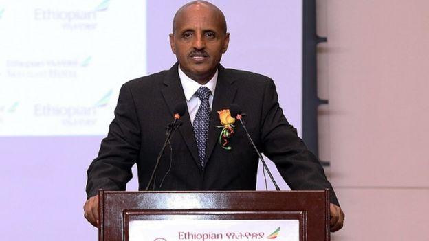 Tewolde Gebremariam, le PDG d'Ethiopian Airlines renouvelle sa confiance en Boeing.