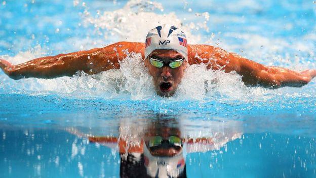 Michael Phelps es el deportista olímpico más laureado de la historia con 28 medallas.