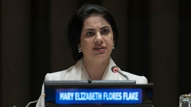 Mary Elizabeth Flores.