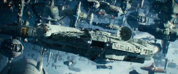 """Naves espaciales en """"Star Wars: el ascenso de Skywalker"""""""