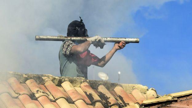 Chavezcilere göre hükümet karşıtı gösteriler bir darbe planının parçası