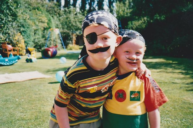 Alex and his younger brother