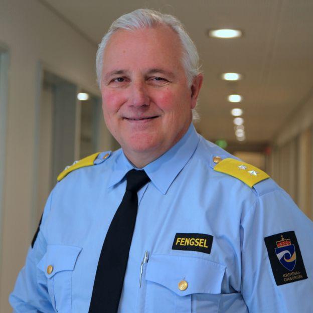 Are Hoidal, director de la prisión de Halden, en Noruega.