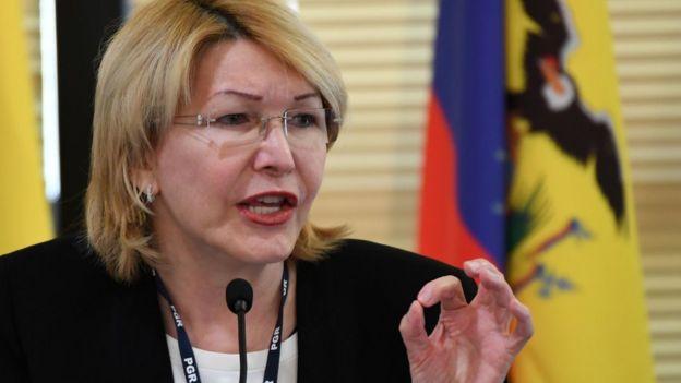 La exfiscal general Luisa Ortega.