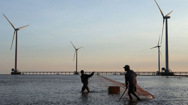 Việt Nam có tiềm năng lớn về điện gió