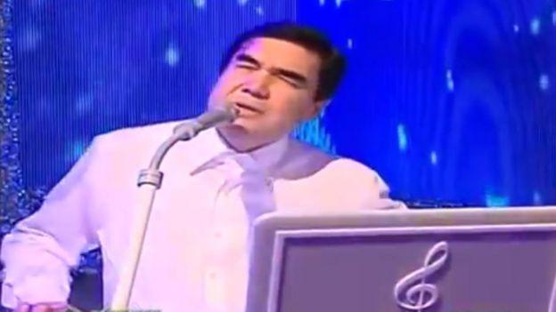Turkmen President Gurbanguly Berdimuhamedov