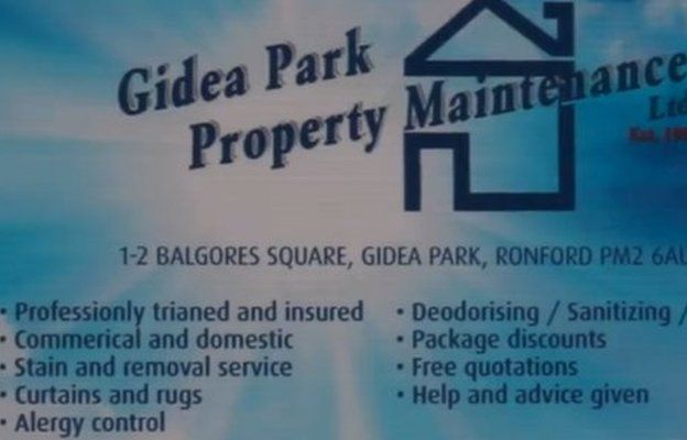 Advert full of spelling mistakes
