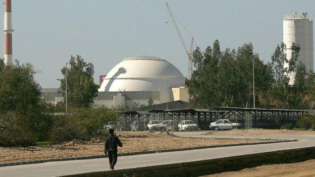 Planta nuclear de Irán.