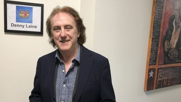 Denny Laine (at his home in Chicago) wrote Mull of Kintyre with McCartney