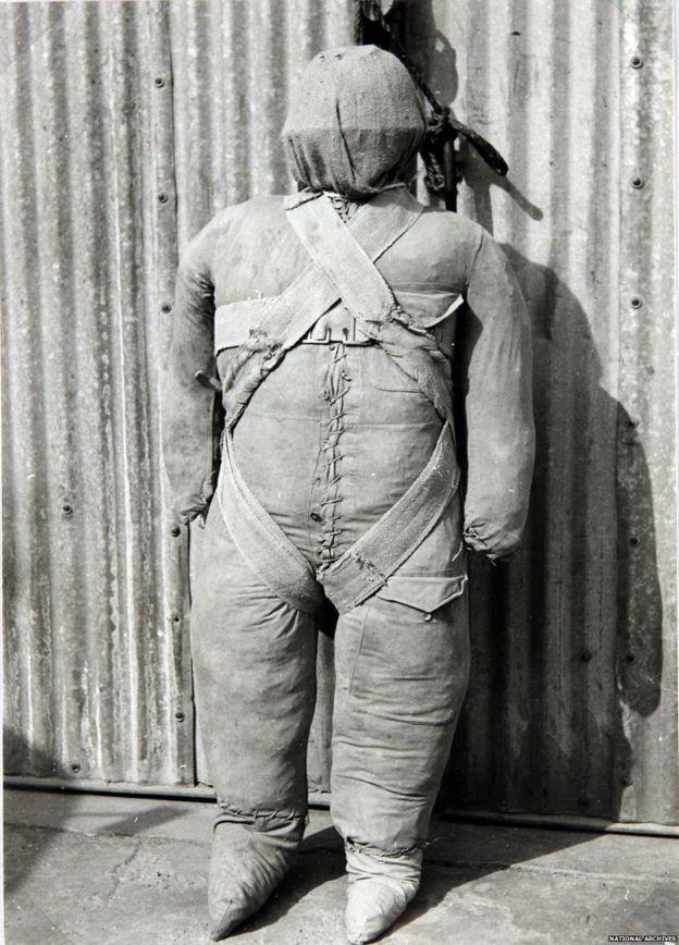 Fake parachutist