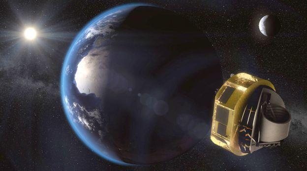"""科学家首次发现""""超级地球"""" 大气中有水或能支持生命"""