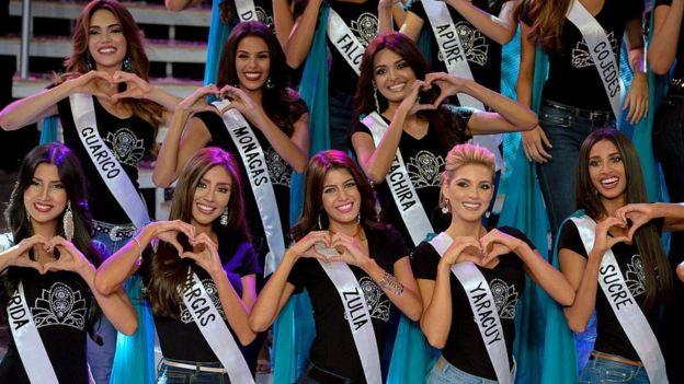 Concursantes del certamen Miss Venezuela