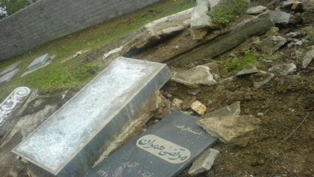 نبش قبر بهائیان