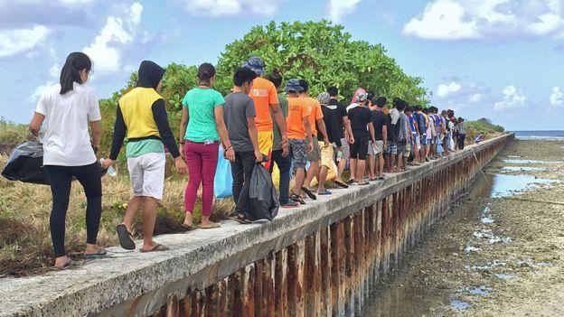 Đảo Thị Tứ hiện do Philippines kiểm soát.