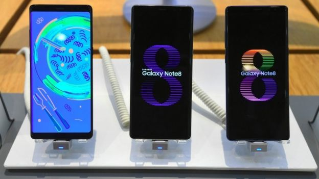 Teléfonos Galaxy Note8