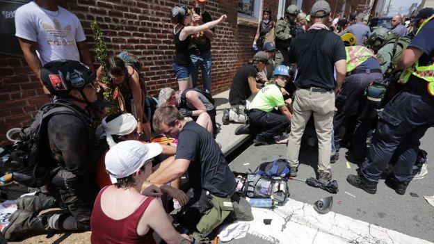 Cumartesi günkü olaylarda pek çok kişi de yaralandı