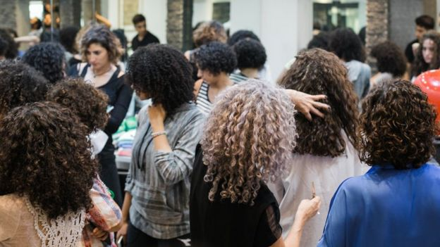 A training session organised by Hair Addict for salons and stylists in Egypt (April 2018)