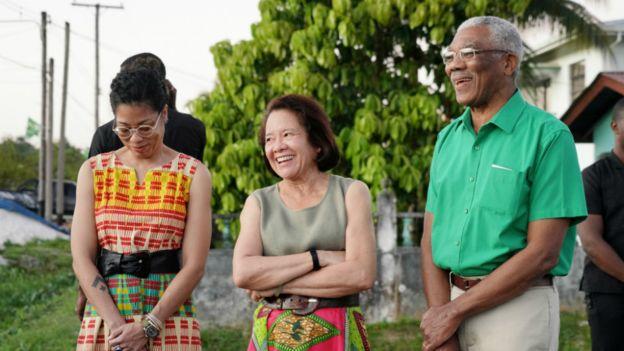 President David Granger and family
