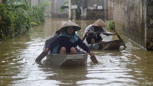 Việt Nam, Hà Nội, ngập