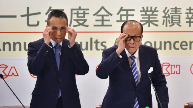 李嘉诚早前已经把长江实业交给儿子李泽钜管理。