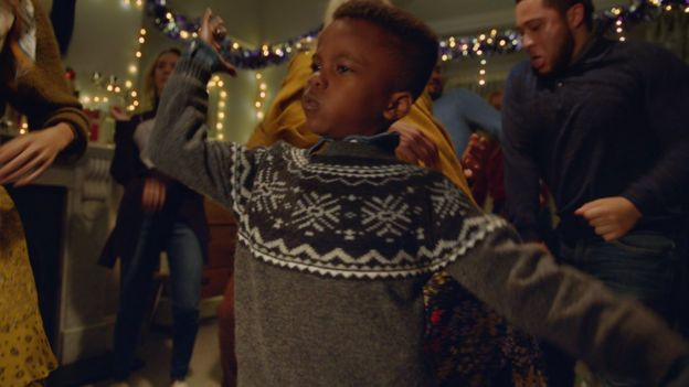M&S's festive clothing ad