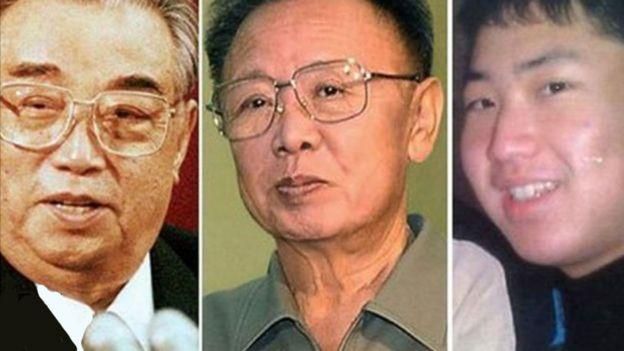Líderes norcoreanos