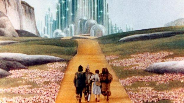 Cena de 'O Mágico de Oz'