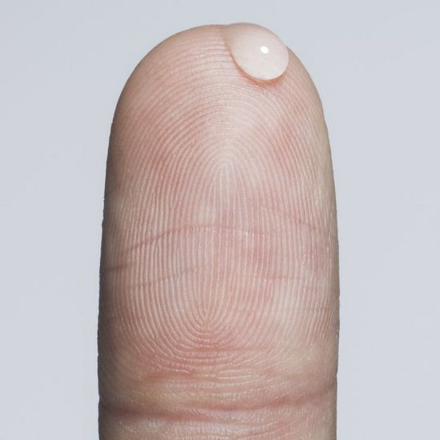 yema de dedo en alta resolución