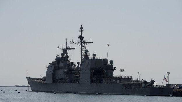 Tuần dương hạm mang tên lửa dẫn đường Antietam
