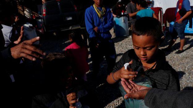 Niño migrante en EE.UU.