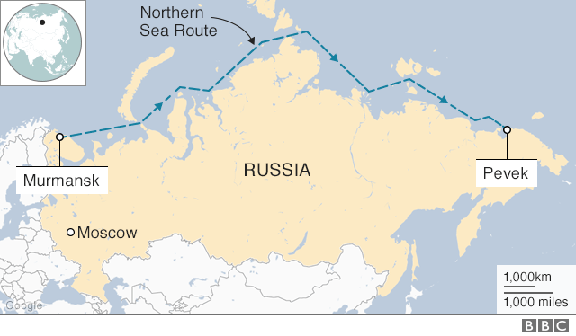 Russia floating nuclear power station sets sail across ... on find a country on a map, north africa map, russia in asia, russia and byzantine empire map, europe map, nato bases map, russia map with cities and rivers, russia political map, russia and philippines map, russia and norway map, tajikistan on asia map, map of russia map, just asia map, countries border china map, russia and former soviet union map, russia and switzerland map, volgograd russia map, russia and france map, central america map, russia and caucasus map,