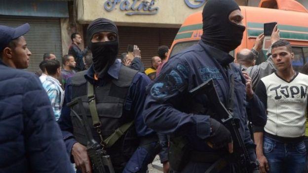 Vikosi vya usalama vimepelekwa kwa wingi katika mji wa Alexandria