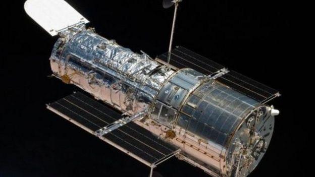 El otro equipo de científicos estudió las ondas ultravioletas del cometa con el telescopio espacial Hubble.