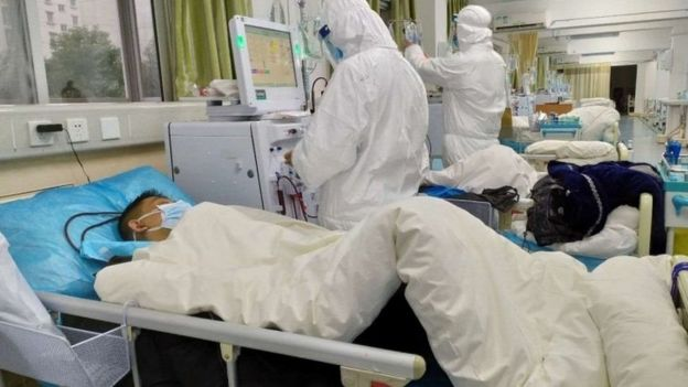 المستشفيات تواجه ازداحاما في ووهان