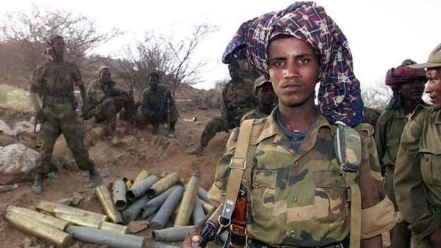 نیروهای اتیوپی در سال ۲۰۰۰ کنترل شهر بارنتو در اریتره را بدست گرفتند