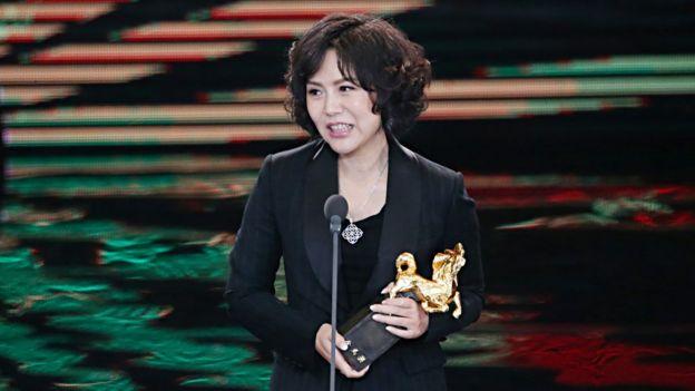 最佳導演獎得主文晏:《嘉年華》不用抽籤就可以在台灣上演了。