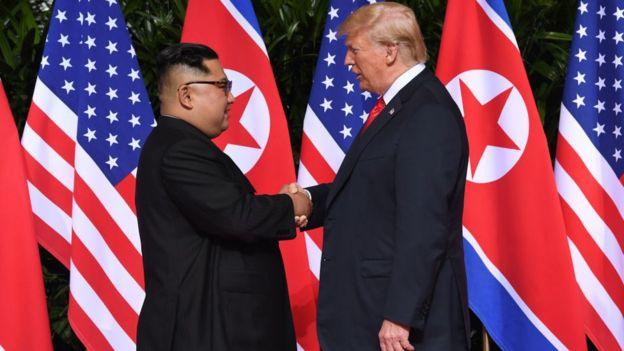 ڈونلڈ ٹرمپ اور کم جونگ اُن کی ملاقات