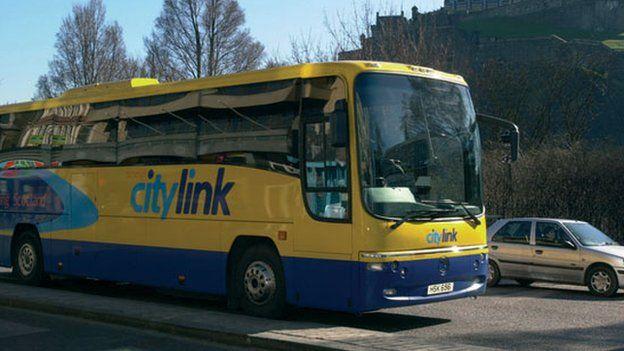 City link bus in Edinburgh