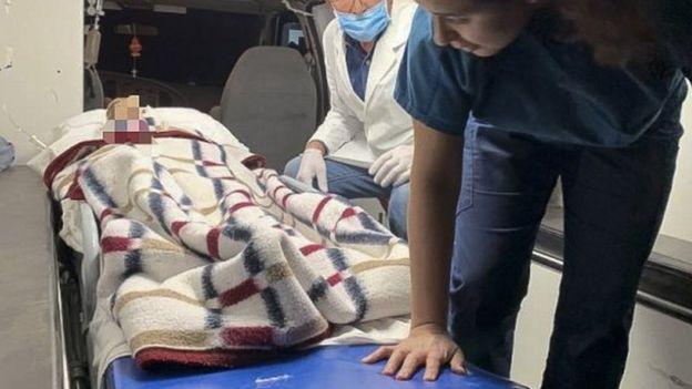 Algunos de los niños supervivientes tenían heridas de bala.