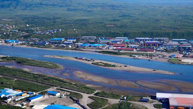Завод на Камчатке