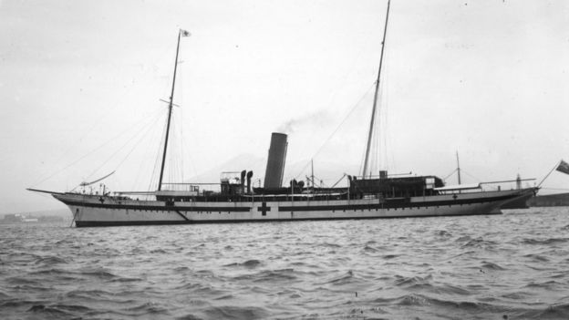 The Erin steam yacht