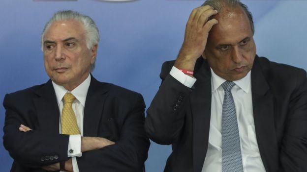 El presidente Michel Temer actuó en respuesta a una solicitud del gobernador de Río, Luiz Fernando Pezao.