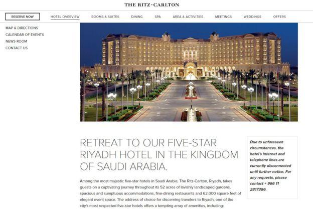 Photo: Riad Ritz-Carlton website