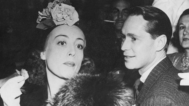 Joan Crawford y Franchot Tone