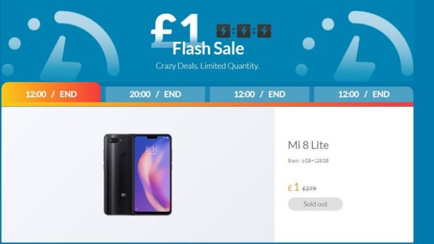 anuncio de Xiaomi