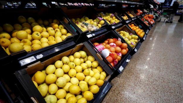 Loose fruit and veg in Asda