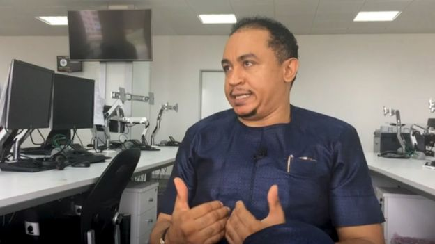 Ifedayo Olarinde known as 'Daddy Freeze' is one of the most outspoken critics of tithing in Nigeria
