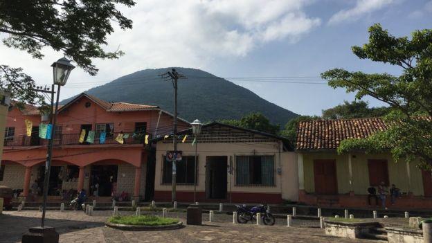 Parque central de Amapala