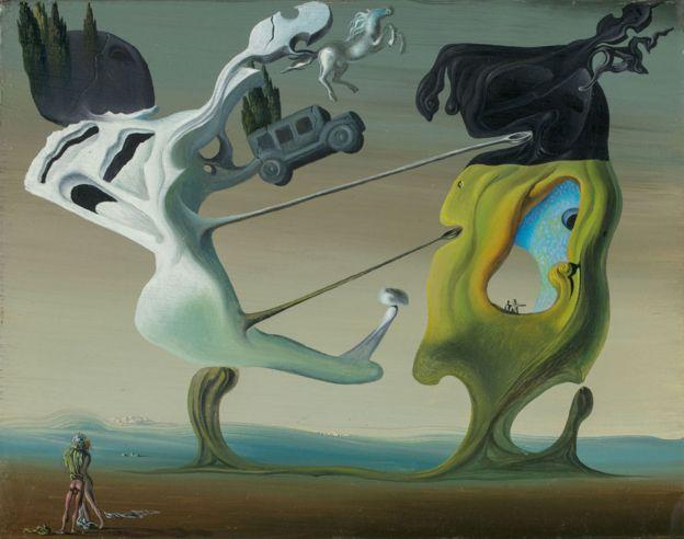 Maison pour Érotomane de Salvador Dalí