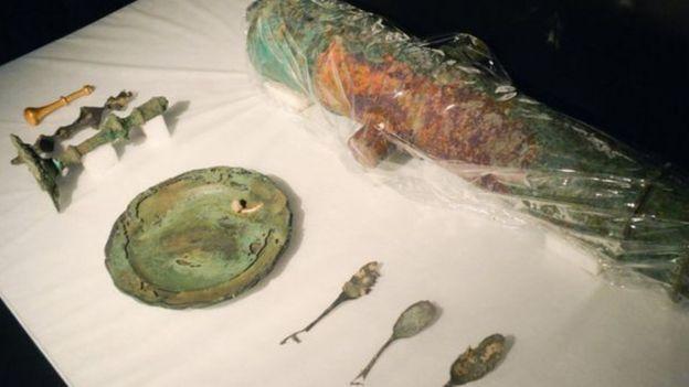 Objetos de naufrágio